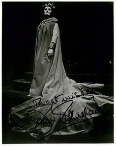 Sutherland, Joan - Signed Photo as Norma