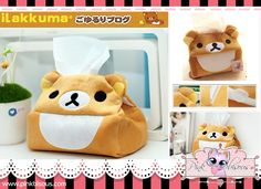 KAWAII RILAKKUMA TISSUE HOLDER Price: ₱ 250  Product Link: http://pinkbisous.com/index.php?route=product%2Fproduct&path=63_84&product_id=105  XOXO ~ Pink Bisous (=^-^=) Website: www.PinkBisous.com   Add us on Facebook for more updates and latest promotions - http://www.facebook.com/pinky.bisous  Fill up our inbox, we like that  Questions related E-mail: info@pinkbisous.com Sales related E-mail: sales@pinkbisous.com