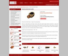 Bronze ground rod clamps by conexcoppe via slideshare