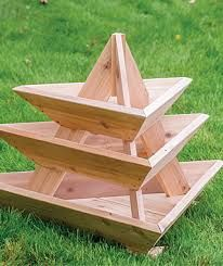 Plant Pyramid Raised Planters