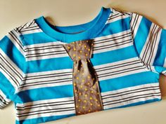 Boy Tie/Bow tie Shirt or Onesie for baby on by UtterChaosByJodi, $19.50 I love her stuff! Hope to have a boy one day!!!!