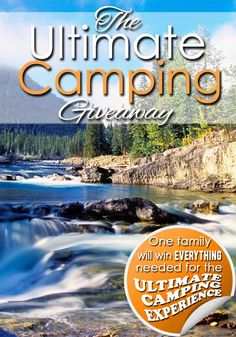 Huge Instagram Camping Giveaway! ends soon. Click here to enter: http://www.craftaholicsanonymous.net/huge-instagram-camping-giveaway