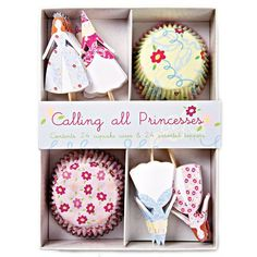 Meri Meri Princess Cupcake Kit *** Special discounts just for this time only  : baking desserts recipes