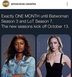 Canary Arrow, Dc Comics Series, Batwoman, Season 7, Kicks