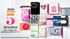 Ganhe Grátis 5 amostras nas compras de perfume acima de R$99 na Beleza na Web #cuponamao #brinde http://cuponamao.blogspot.com.br/2016/10/beleza-na-web-ganhe-gratis-5-amostras.html