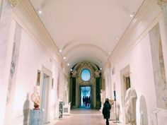 The interior of the Museo Nazionale Romano alle Terme di Diocleziano, Rome.