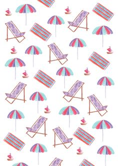 We love this Summer print by Marie Bretin.