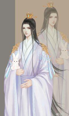 Fantasy Art Men, My Fantasy World, Beautiful Fantasy Art, Male Cartoon Characters, Fantasy Characters, C Anime, Anime Art, China Art, Handsome Anime