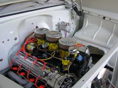 Engine with side panels installed.jpg