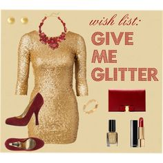 """Give Me Glitter"" by julie-price-thiede on Polyvore"