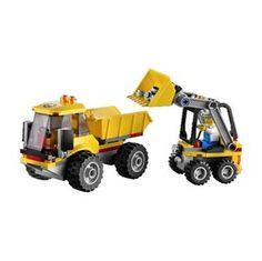 Güçlü ve sert kayalarla mücadele zamanı geldi.İşte tam sana göre bir oyuncak. http://www.onlineoyuncak.com/?urun-6682-lego-loader-and-tipper