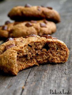 Bake&Taste: Ciastka owsiane z czekoladą Krispie Treats, Rice Krispies, Banana Bread, Cooking Recipes, Sweets, Cookies, Desserts, Food, Anna