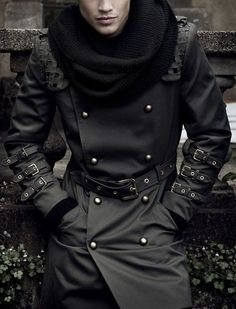 Read on to know how a trench coat should fit you and what are the things you should keep in mind. My Character, Character Design, Mantel, Character Inspiration, Story Inspiration, Visual Kei, Apocalypse Fashion, Post Apocalypse, Ravenclaw