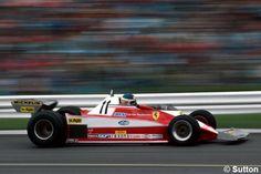 Carlos Reutemann con el Ferrari 312T3 en el GP de Gran Bretaña 1978