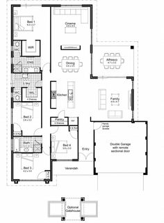 The Rivello floorplans | HP Perth WA | Pinterest | Floor design ...