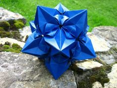 Origami Aelita Kusudama Folding Instructions