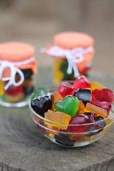 Balas de gelatinas