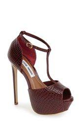 Steve Madden 'Kriminal' T-Strap Platform Sandal (Women)