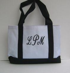 1Personalized Tote Bag via Etsy $11