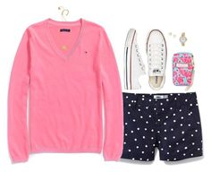 """Spring Days"" by sc-prep-girl ❤ liked on Polyvore featuring Old Navy, Tommy Hilfiger, Converse, Lilly Pulitzer, BaubleBar, Bulova and Kate Spade"