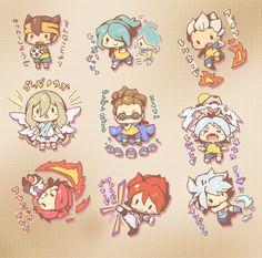 Chibi ina <3 Anime Chibi, Kawaii Anime, Anime Art, Byron Love, Litle Boy, Galaxy Movie, Japanese High School, Manga Quotes, Inazuma Eleven Go