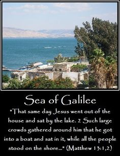 The Sea of Galilee, Israel | www.wherejesuslived.com
