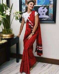 Cotton saree : free COD Designer Fancy Cotton Women's Sarees Vol 5 Fabric: Saree - Cotton, Blouse - Cotton . Blouse Back Neck Designs, Saree Blouse Designs, Blouse Patterns, Indian Attire, Indian Wear, Indian Outfits, Kalamkari Saree, Silk Sarees, Fancy Sarees