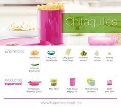 Chilaquiles #Tupperware