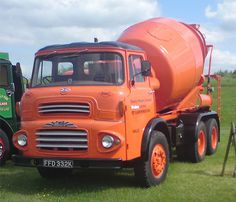 Old Concrete Mixer Trucks - Bing images