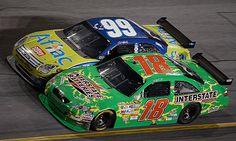 NASCAR; Kyle Busch & Carl Edwards