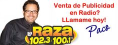 Publicidad en Radio Atlanta. WLKQ La Raza 102.3 / 100.1 FM radio Latino desde Atlanta, GA USA. (64kbps Musica Latina)