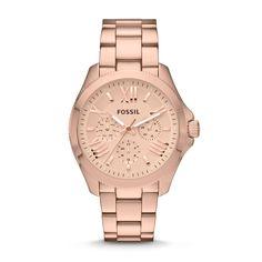 Orologio Cecile multifunzione in acciaio - toni dell'oro rosa AM4511 | FOSSIL®