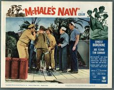 McHale's Navy - The misadventures of Commander Quinton McHale and his crew of the PT Boat 73 Mchale's Navy, Navy Color, Gavin Macleod, Ernest Borgnine, Old Shows, Do You Remember, Movie Quotes, Childhood Memories, Growing Up