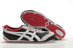 Mens Asics Onitsuka Tiger Mini Cooper Shoes Black White Red