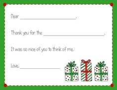 Love these fill-in-the-blank cards to help little ones begin to write thank you notes on their own!   #cards #fillinblank #kids #givethanks #harvardhomemaker