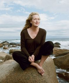 Meryl Streep, por Annie Leibovitz I want to look just like her when I'm her age.