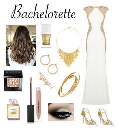 """Bachelorette"" by edonovan736 on Polyvore featuring Jovani, Ellie, Nordstrom, Cartier, BERRICLE, The Hand & Foot Spa, Burberry, Bobbi Brown Cosmetics and Oscar de la Renta"