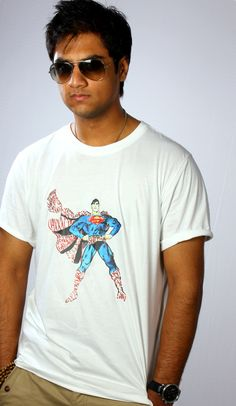 Superman. Exclusive Bloominggraphy T-shirts.