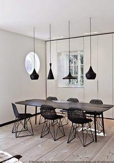 Inspiratieboost: de mooiste zwarte tafels voor de eetkamer - Roomed
