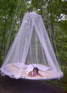 Trampoline bed? Yes please!!