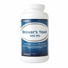 GNC Brewer's Yeast 500mg, Tablets