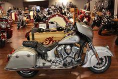 2016 Indian® Chieftain® Silver Smoke Stock: 2231 | Coastal Victory & Indian Motorcycle of Myrtle Beach | Murrells Inlet, South Carolina | coastalvictory.com