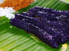 Puto Bumbong Roberto Verzo, CC-BY, via flickr Perhaps the most loved of all Philippine desserts that Filipinos cannot wait to eat during the Christmas season in the Philippines is puto bumbong, a purple-colored sticky rice cake shaped like small...