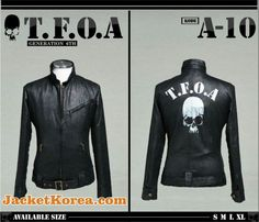 jaket crows zero tfoa the front of armament a-10 generasi 6