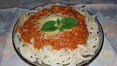 Rozi erdélyi,székely konyhája: Bolognai spagetti Bologna, Spagetti, Ethnic Recipes, Food, Essen, Meals, Yemek, Eten