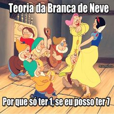 Instagram media ironicadisney - Teoria da Branca de neve #disneyironic #disneyironicaoficial