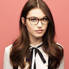 c5b289d152 Image result for celebrity oval face glasses 2018 Eyeglasses For Women  Round Face