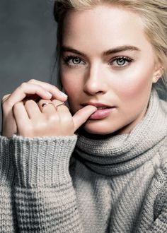 New/old portrait of Margot Robbie by Mark Mann at Sundance Film Festival 2015