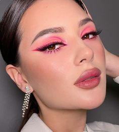 Eye Makeup Designs, Eye Makeup Art, Pink Makeup, Glam Makeup, Eyeshadow Makeup, Makeup Eye Looks, Beauty Makeup, Gorgeous Makeup, Pretty Makeup