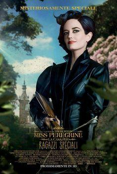 Miss Peregrine La Casa dei Ragazzi Speciali, scheda del film di Tim Burton con Eva Green e Asa Butterfield, leggi la trama e la recensione, guarda il trailer, trova cinema.